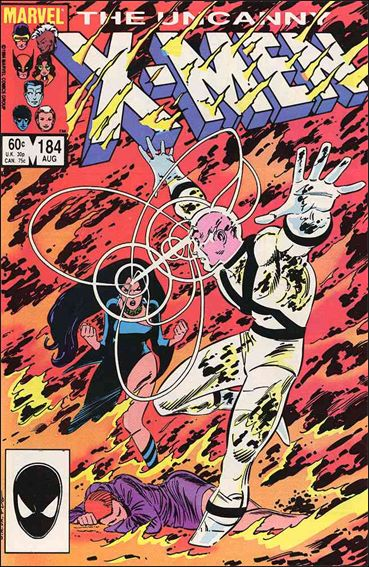 Uncanny X-Men (1981) 184-A by Marvel