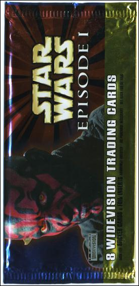 Star Wars: Episode I Widevision: Series 1 2-K by Topps
