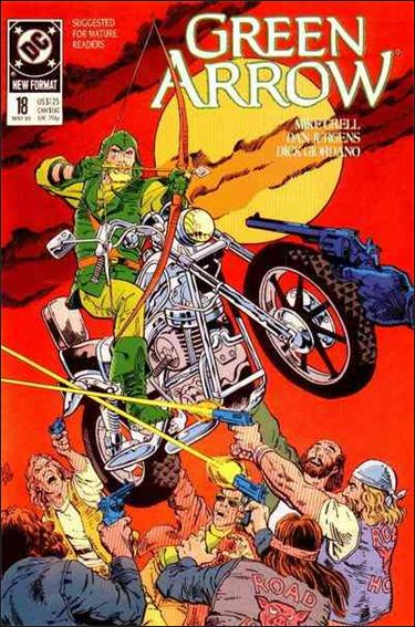 Green Arrow (1988) 18-A by DC