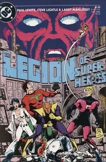 Legion of Super-Heroes (1984) 8-A by DC