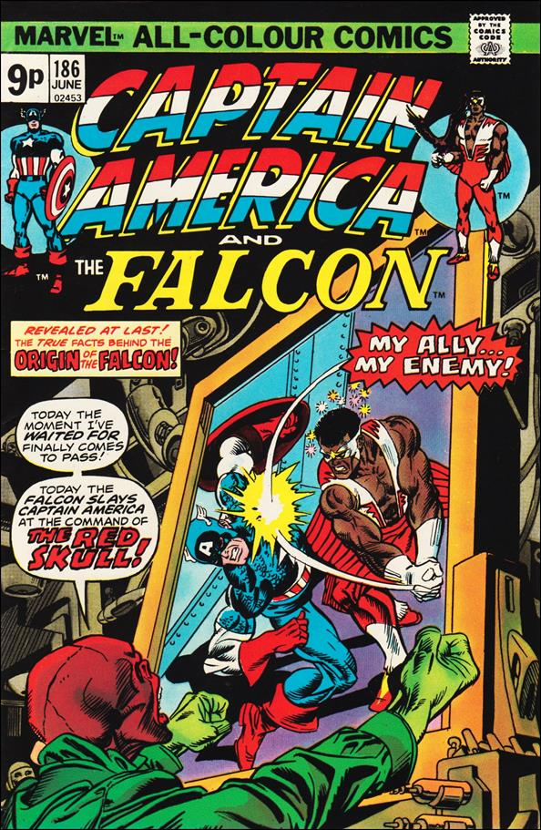Captain America (1968) 186-B by Marvel