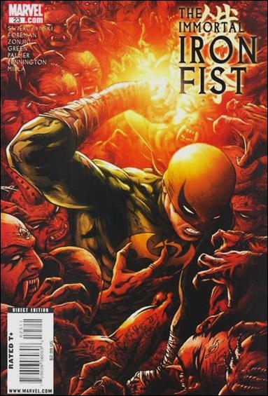 Immortal Iron Fist 23-A by Marvel