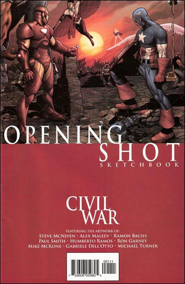 Civil War: Opening Shot 1-A by Marvel