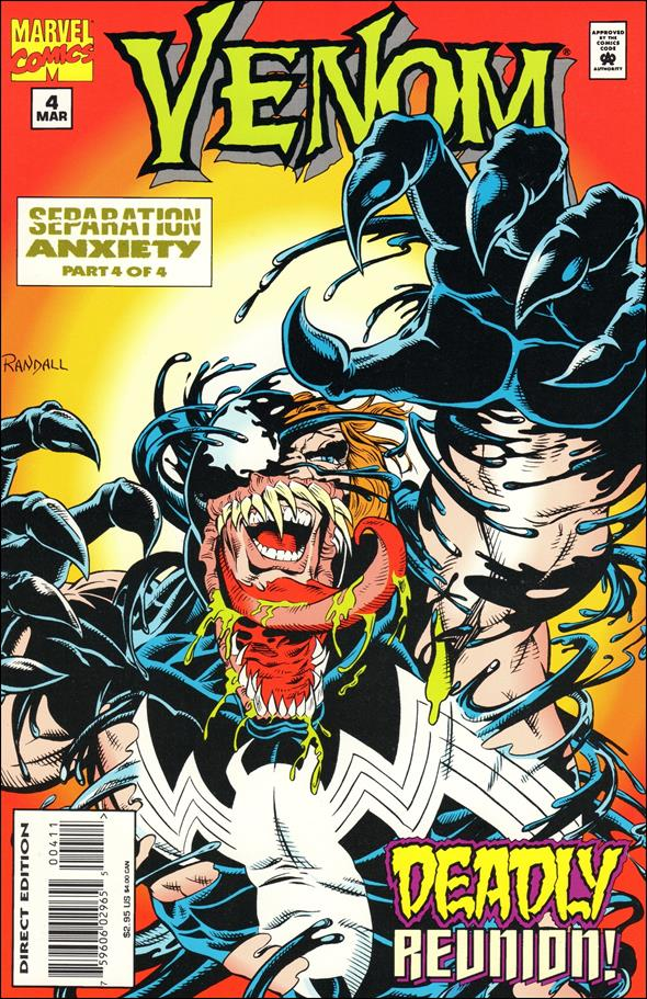 Venom: Separation Anxiety 4-A by Marvel