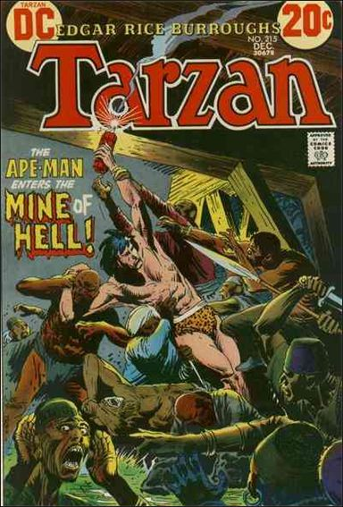 Tarzan (1972) 215-A by DC
