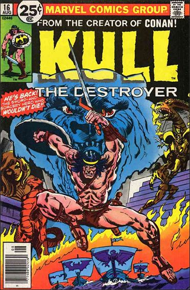 Kull the Destroyer 16-A by Marvel