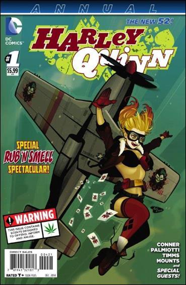 Harley Quinn Annual 1-C by DC