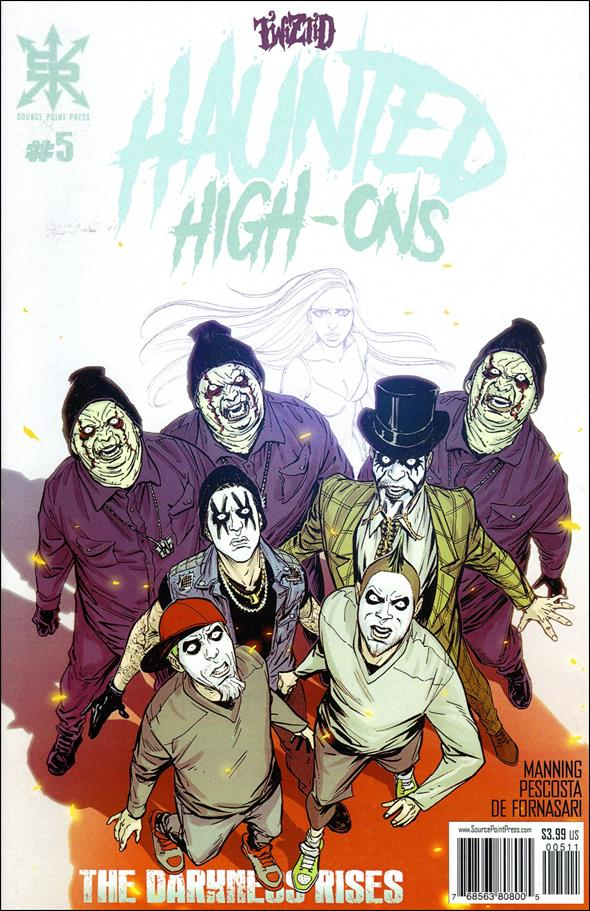 Twiztid Haunted High-Ons: The Darkness Rises 5-A by Source Point Press