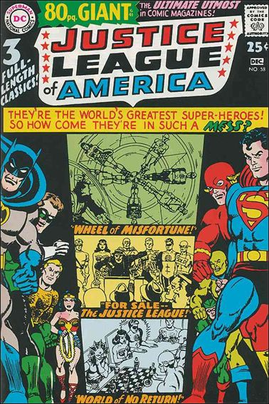 Justice League of America (1960) 58-A by DC