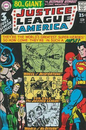 Justice League of America (1960) 58-A