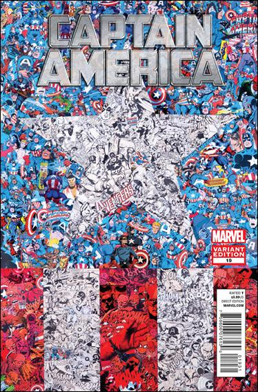 Captain America (2011) 19-C by Marvel