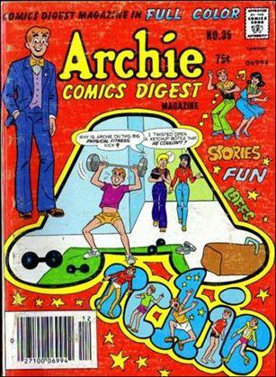 Archie Comics Digest Magazine 39-A