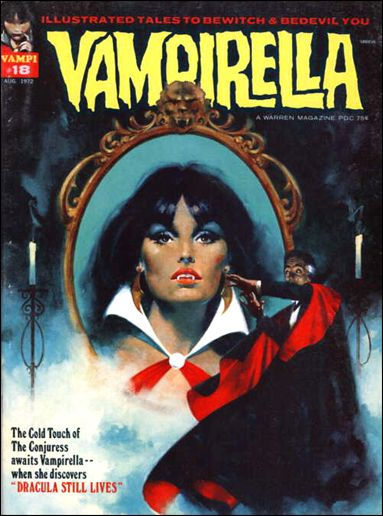 Vampirella 18-A by Warren
