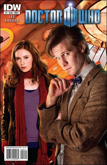 Doctor Who (2011) 2-B by IDW