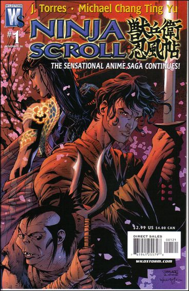 Ninja Scroll 1-B by WildStorm