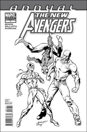New Avengers Annual (2006) '1'-C