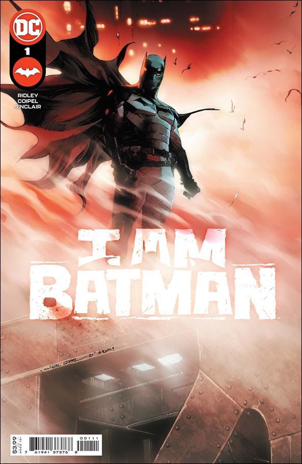 I am Batman 1-A by DC