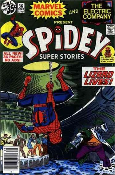 Spidey Super Stories 36-A by Marvel