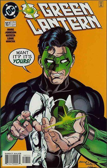Green Lantern (1990) 107-A by DC