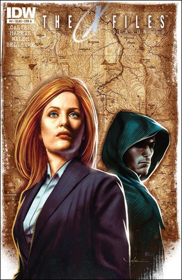 X-Files: Season 10 4-A by IDW