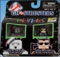 Ghostbusters Minimates (Exclusives) Glow-in-the-Dark Stay Puft & GB2 P. Venkman (SDCC) by Diamond Select