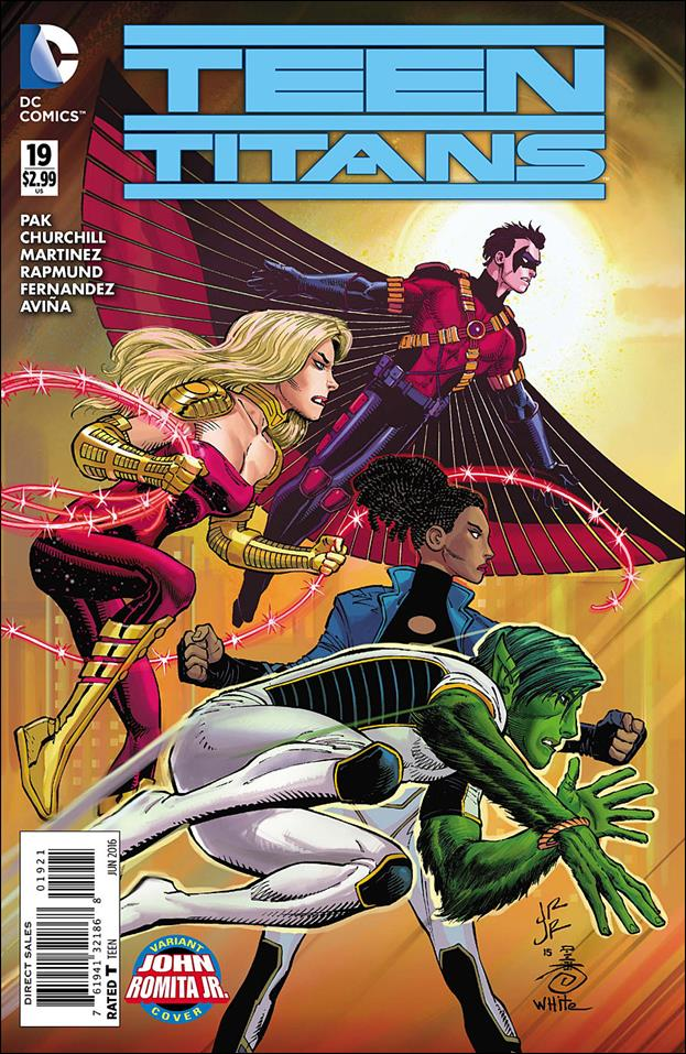Teen Titans (2014) 19-B