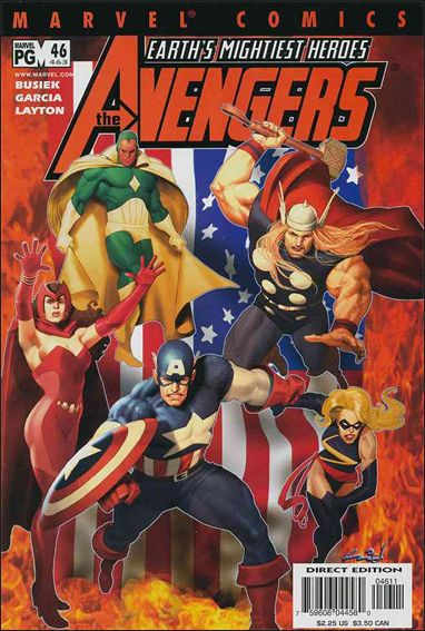 Avengers (1998) 46-A by Marvel