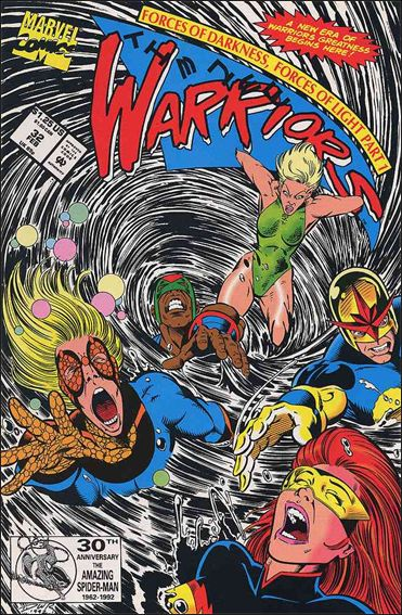 New Warriors (1990) 32-A by Marvel