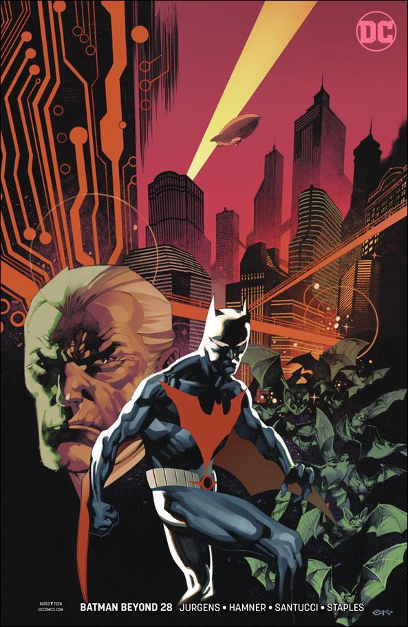 Batman Beyond (2016) 28-B by DC