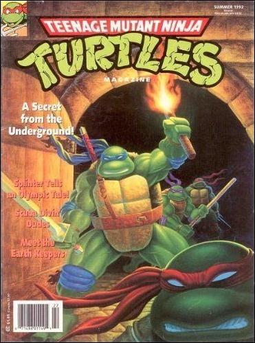 Teenage Mutant Ninja Turtles Magazine 8-A by Welsh Publishing Group