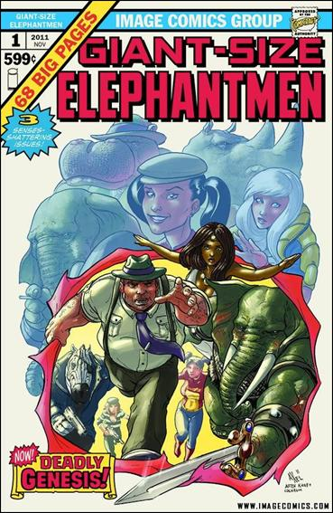 Giant Size Elephantmen 1-B by Image