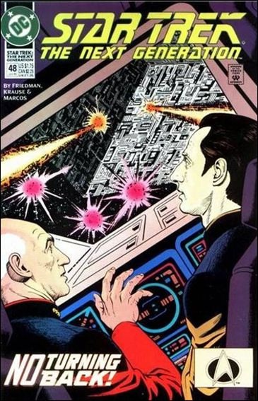 Star Trek: The Next Generation (1989) 48-A by DC