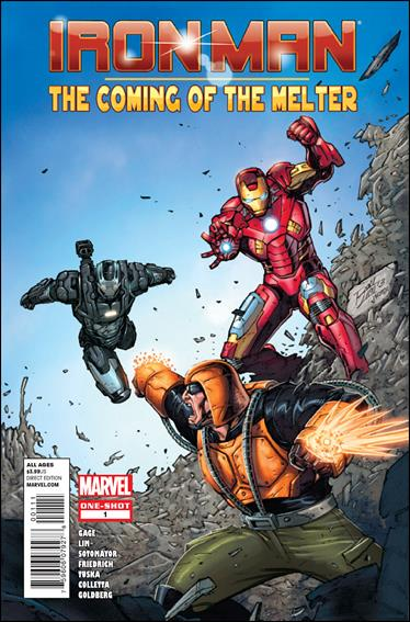 Iron Man: The Coming of The Melter 1-A by Marvel