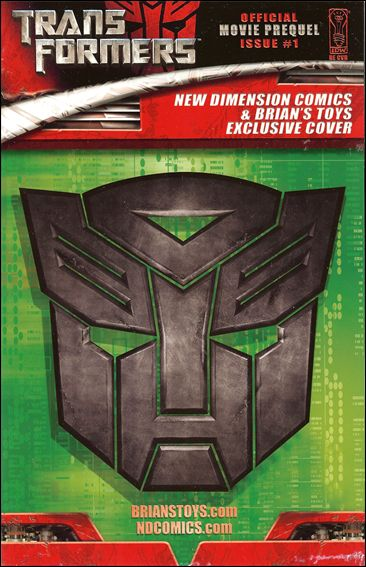 Transformers: Movie Prequel 1-G by IDW