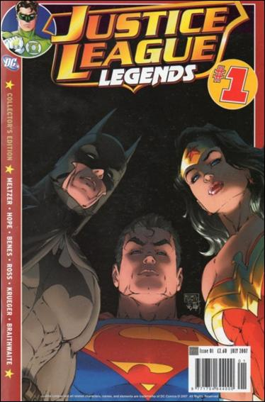 Justice League Legends (UK) 1-A by Titan Magazines