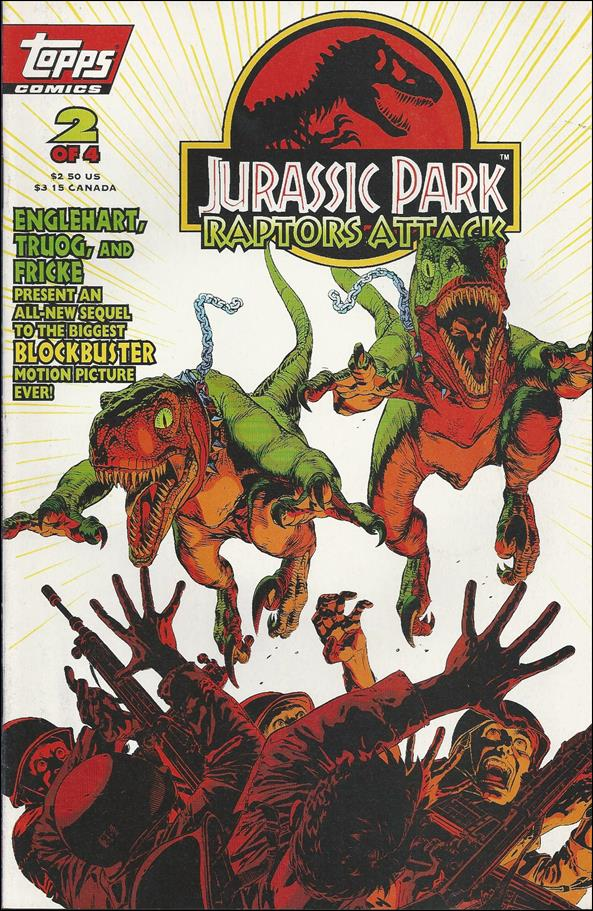Jurassic Park: Raptors Attack 2-A by Topps