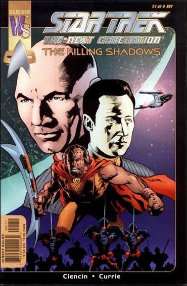 Star Trek: The Next Generation—The Killing Shadows 1-A by WildStorm