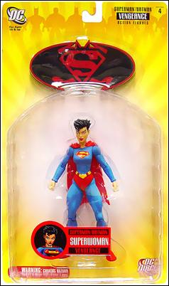 Superman/Batman (Series 4) - Vengeance Superwoman by DC Direct