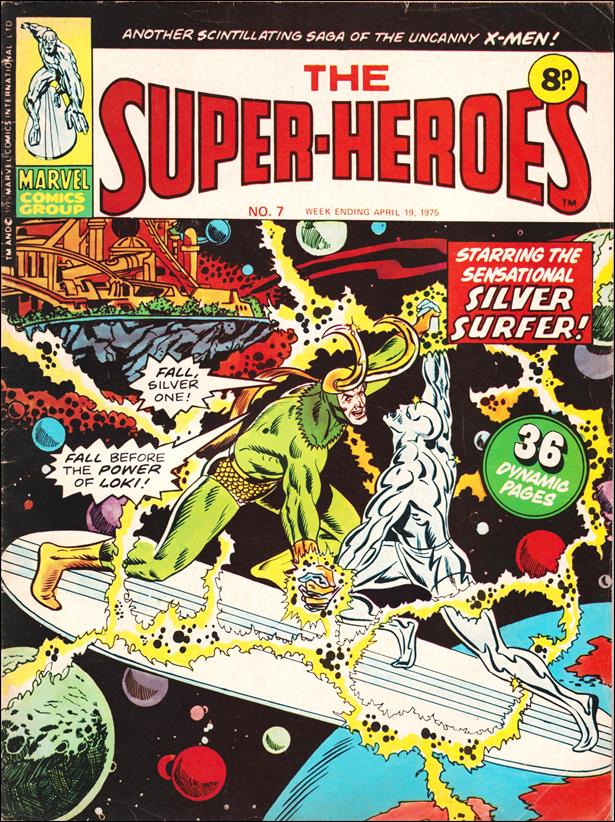 Super-Heroes (UK) 7-A by Marvel UK