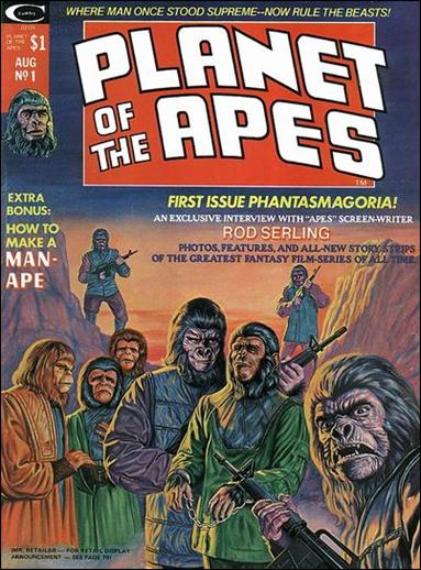 Planet of the Apes (1974) 1-A by Marvel