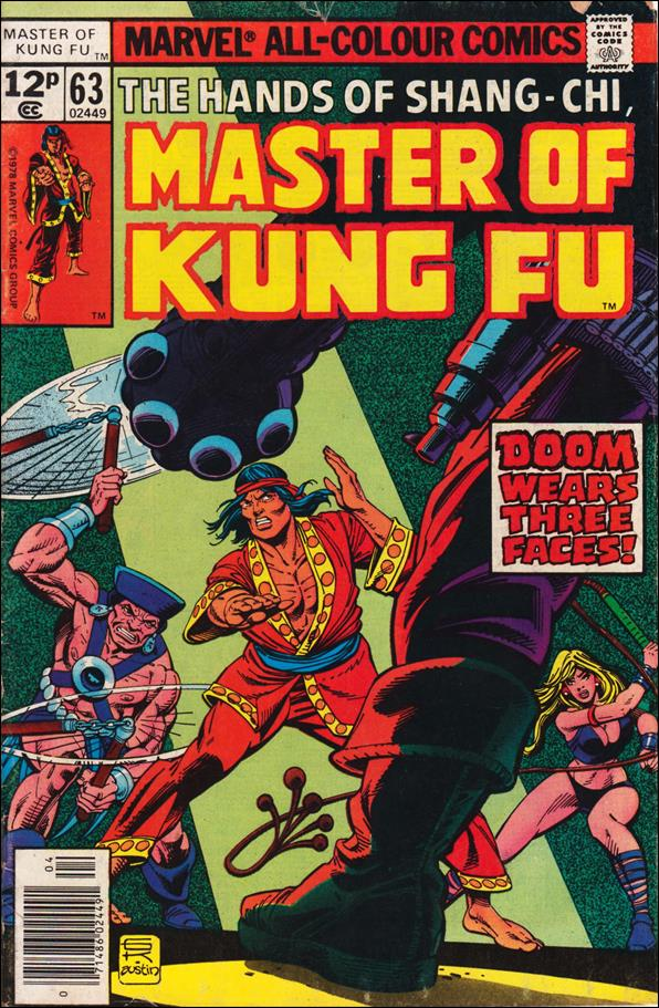 Master of Kung Fu 63-B by Marvel