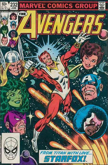 Avengers (1963) 232-A by Marvel