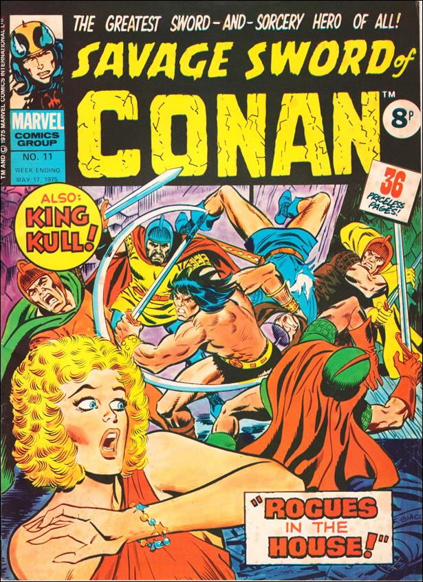Savage Sword of Conan (UK) (1975) 11-A by Marvel UK