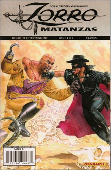 Zorro: Matanzas 4-A by Dynamite Entertainment