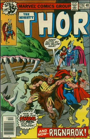 Thor (1966) 278-A by Marvel