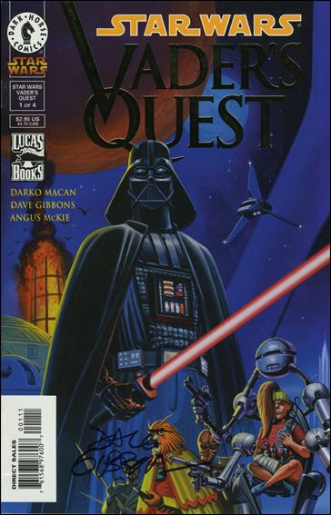 Star Wars: Vader's Quest 1-C by Dark Horse