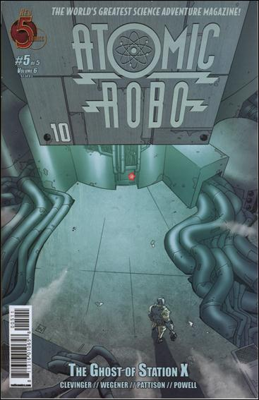 Atomic Robo and the Ghost of Station X 5-A by Red 5 Comics