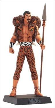 Classic Marvel Figurine Collection (UK) Kraven by Eaglemoss Publications