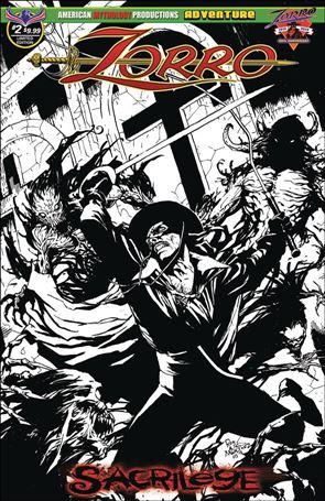 Zorro: Sacrilege 2-C