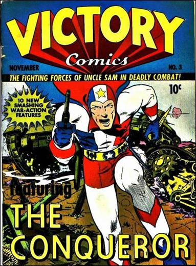 Victory Comics 3-A by Hillman